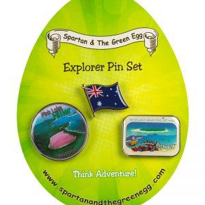 Australia pin set #1