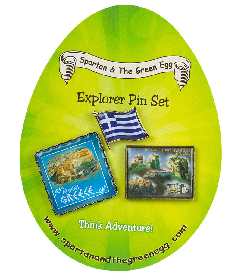 Greece pin set #1