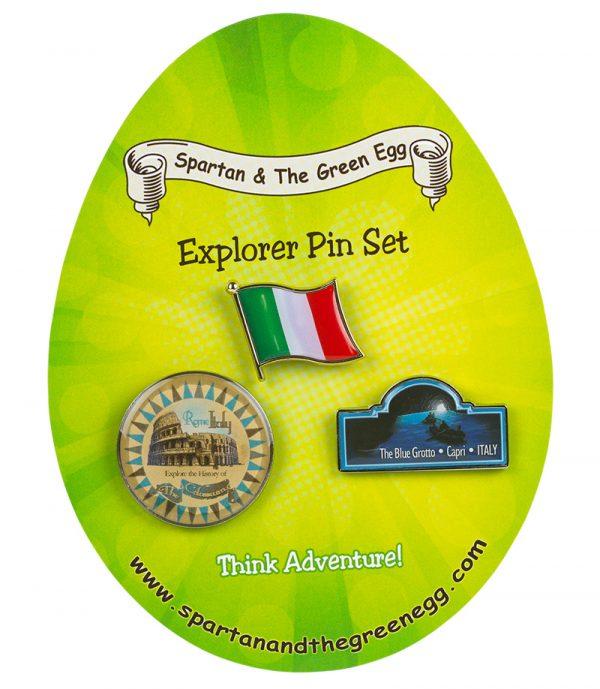 Italy pin set #1