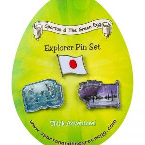 Japan pin set #2