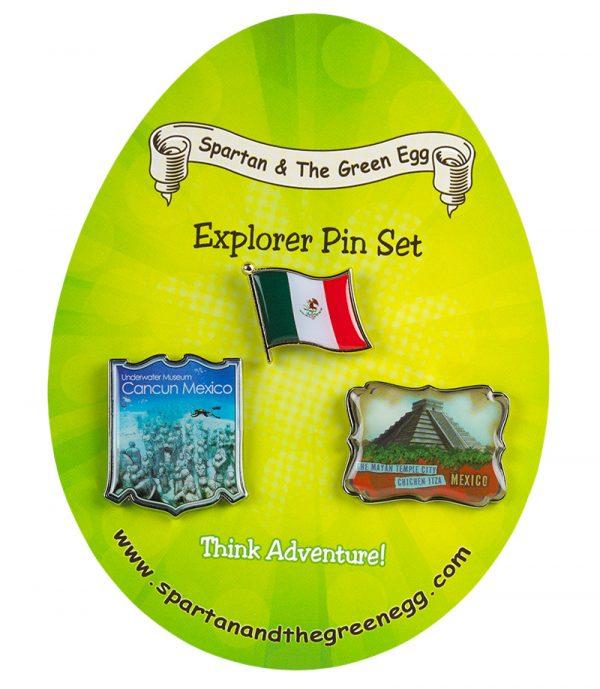 Mexico pin set #1