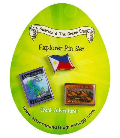 Philippines pin set #1