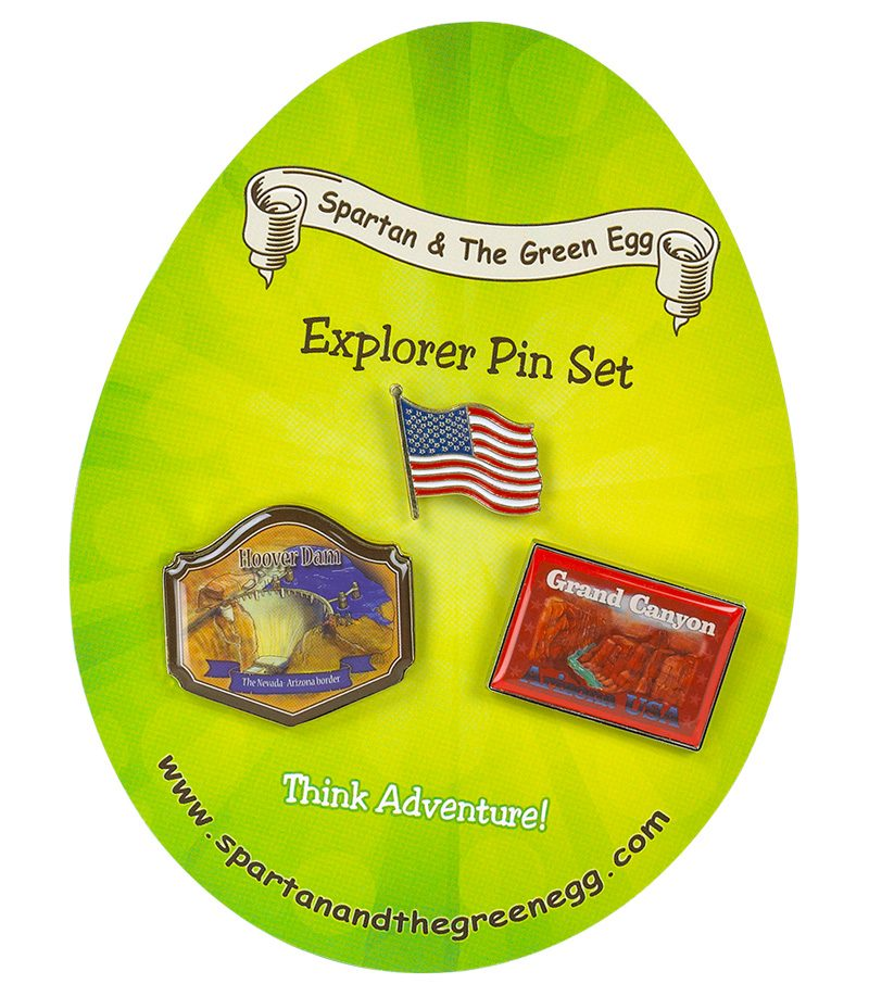 USA pin set # 1