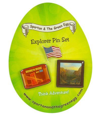 USA pin set # 3