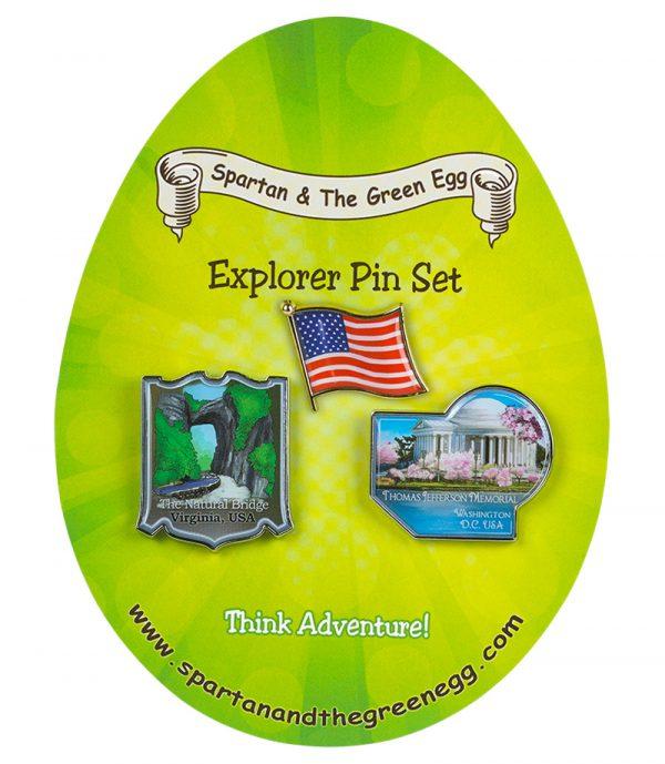 USA pin set # 6
