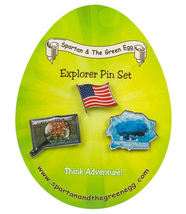 USA pin set # 8